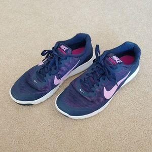 Nike Flex Experience RN 4 Blue & Pink Sneakers